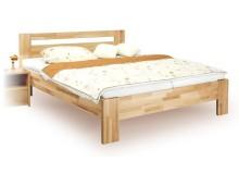 Manželská postel z masivu IVA 160x200, 180x200, buk