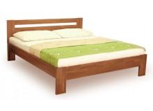 Manželská postel z masivu IVA 160x200, 180x200, buk - moření karamel