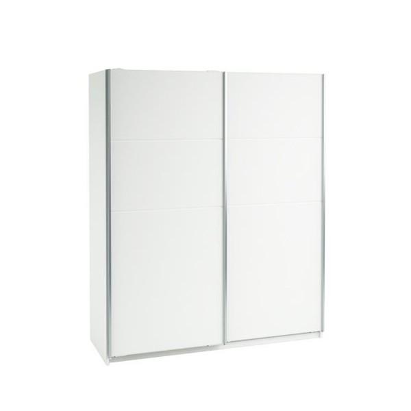 Šatní skříň s posuvnými dveřmi IA190580, bílá