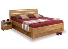 Manželská postel z masivu VERONA, výklop 160x200, 180x200, buk