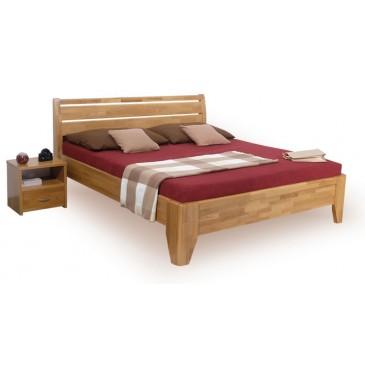 Manželská postel z masivu VERONA, 160x200, 180x200, buk