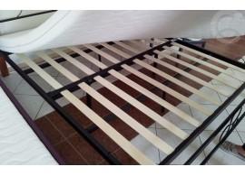 Noční stolek KL design, masiv borovice, smrk