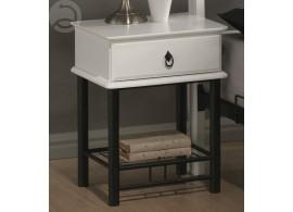 Noční stolek z masivu IDE812, smrk