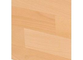 Postel z masivu - jednolůžko ERIK 90x200, masiv borovice