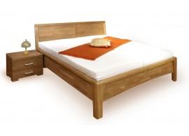 Manželská postel - dvoulůžko CAROLINA 1. 160x200, masiv buk