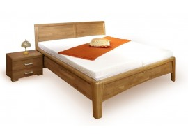 Manželská postel CAROLINA 1. senior, 160x200, masiv buk