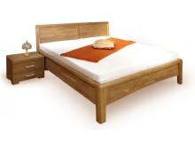 Zvýšená postel z masivu CAROLINA 1. senior, 180x200, masiv buk