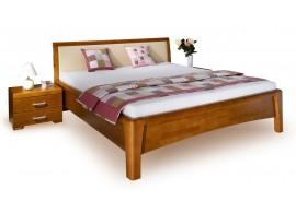 Manželská postel z masivu CAROLINA 2. 160x200, masiv buk