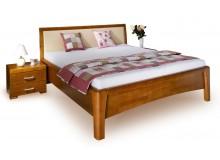 Manželská postel z masivu CAROLINA 2. senior, 160x200, masiv buk
