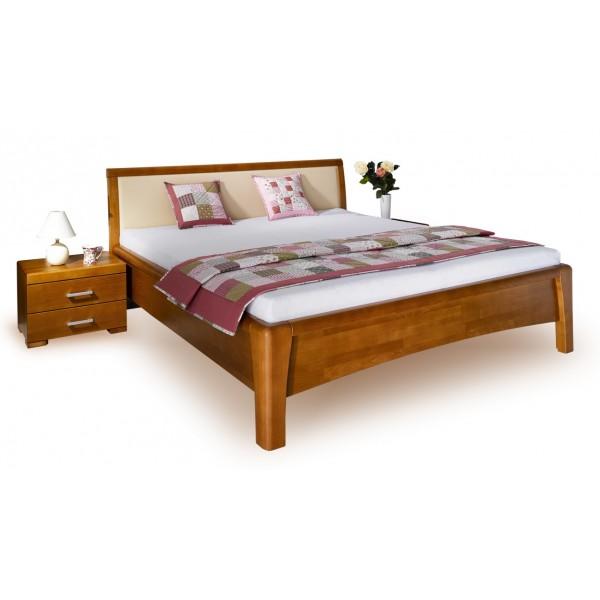 Manželská postel - dvojlůžko CAROLINA 2. 180x200, masiv buk