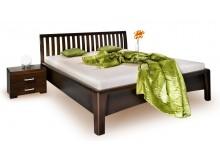 Manželská postel z masivu CAROLINA 3. 160x200, masiv buk