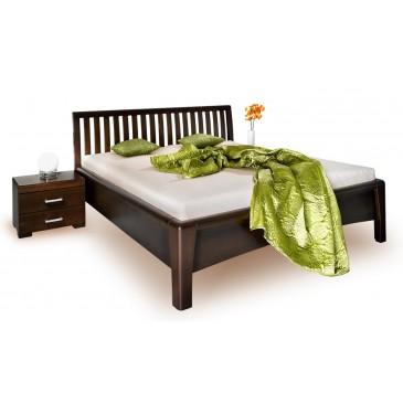 Zvýšená postel z masivu CAROLINA 3. senior, 160x200, masiv buk