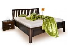 Zvýšená postel z masivu CAROLINA 3. senior, 180x200, masiv buk