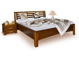 Noční stolek se zásuvkou IVA, masiv buk