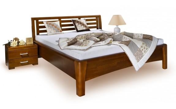 Manželská postel z masivu CAROLINA 4. 160x200, 180x200, masiv buk