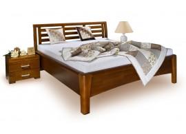 Patrová postel - horní spaní 90x200 K36/SZM - PEDRO, masiv smrk