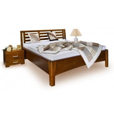 Zvýšená postel z masivu CAROLINA 4. senior, 160x200, 180x200, masiv buk