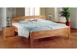 Patrová postel - horní spaní KALIMERO-342A/SZM, masiv smrk