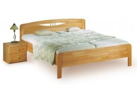 Poschoďová postel KALIMERO-320/OZ, masiv smrk