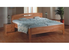 Poschoďová postel KALIMERO-320B/RM, masiv smrk