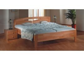 Poschoďová postel KALIMERO-320A/RM, masiv smrk