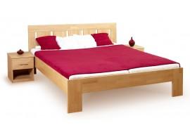 Manželská postel - dvojlůžko LEONA R1 160x200, masiv buk