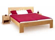 Manželská postel - dvojlůžko LEONA R1 180x200, masiv buk