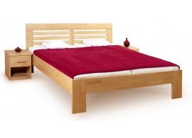 Manželská postel z masivu - dvojlůžko LEONA R2 160x200, masiv buk