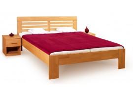 Manželská postel LEONA R2 160x200, 180x200, masiv buk - světlá třešeň