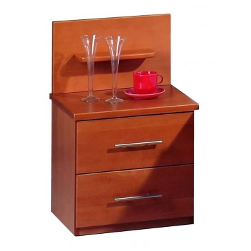 Noční stolek ASPENA, dýha buk