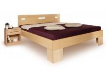 Manželská postel z masivu VAREZZA 6A 160x200, 180x200, masiv buk