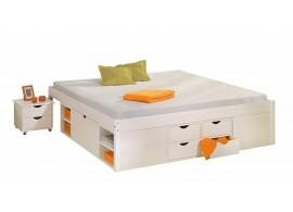 Noční stolek MAXIM PLUS, masiv jádrový buk