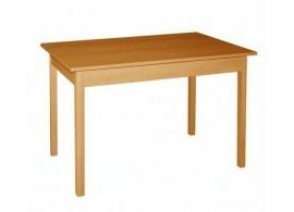 Jídelní stůl Daniel, masiv/lamino, 90x60 cm, OLŠE