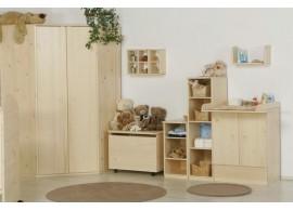 AKCE - Manželská postel FILIP 180x200, masiv borovice, matrace + rošty ZDARMA !