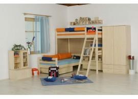 Noční stolek - BR-011, masiv borovice
