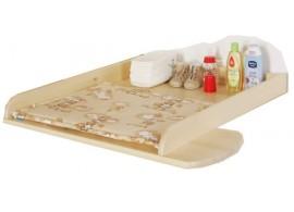 Dětská postel s přistýlkou LARA, masiv borovice - bílá