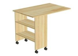 Stůl výsuvný-pod zvýšené jednolůžko D707-Domino
