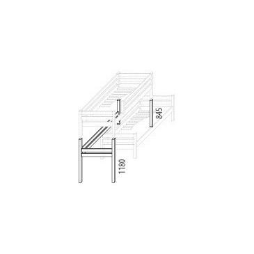 Palanda posuvná (zvyšující prvky) D910d-Domino