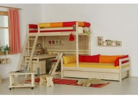 Manželská postel z masivu VK-13, 160x200, 180x200, buk