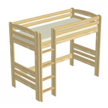 Poschoďová postel s úložným prostorem DOMINIK III.