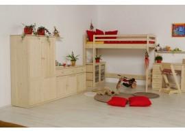 Poschoďová postel pro 3 děti JAKUB III.