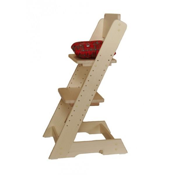 Dřevěná dětská rostoucí židle KLÁRA č.407/2, masiv smrk