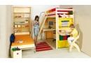 Dřevěná dětská rostoucí židle Klára č.407/1, masiv smrk