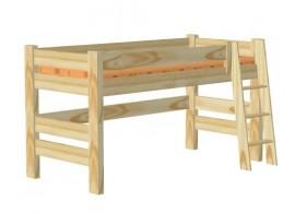 Dětská postel SIMON 90x200, masiv smrk
