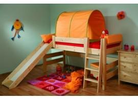 Dětská postel SIMON 90x200, masiv borovice