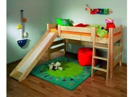 Dětská postel VIKI 90x200, masiv borovice