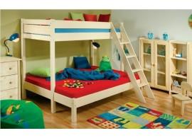 Dětská postel z masivu ZORA 90x200, smrk