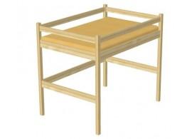 Dětská postel z masivu ZORA 2. 90x200, borovice