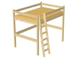 Dětská postel TORA 2. 90x200, masiv borovice
