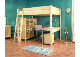 Poschoďová postel OLA 90x200, masiv borovice
